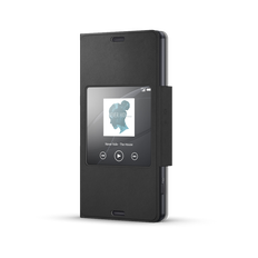 Style Cover Window for Xperia Z3 Compact - SCR26 (Black)