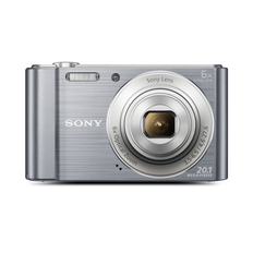 W810 Digital Compact Camera with 6x Optical Zoom (Sliver)