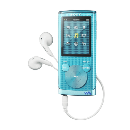 4GB E Series Video MP3/MP4 Walkman (Blue), , hi-res