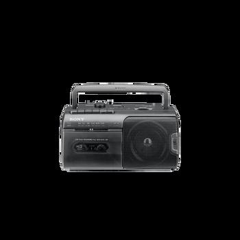 Radio Cassette Player (Black), , hi-res