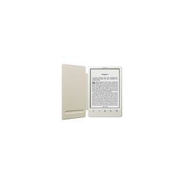 T3 Reader with Integrated Cover and High Resolution Screen (White), , hi-res