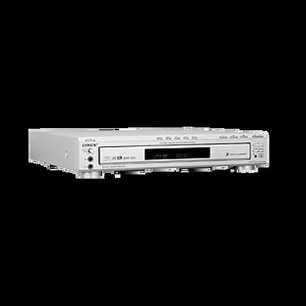 5 Disc DVD/CD/CDR/RW MP3 Player - Silver, , hi-res