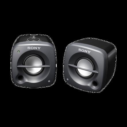 Desktop / Multimedia Portable Speakers (Black), , hi-res