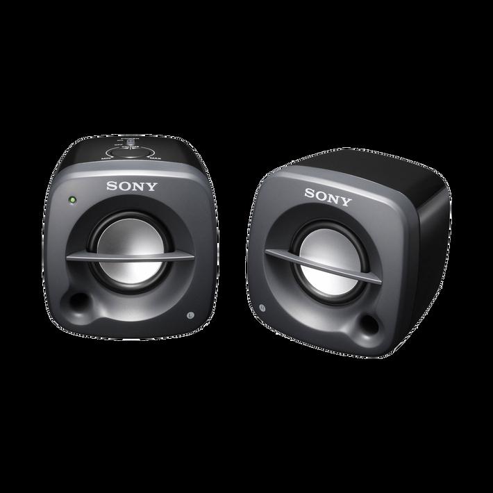 Desktop / Multimedia Portable Speakers (Black), , product-image