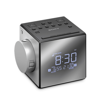 Clock Radio with Time Projector, , hi-res