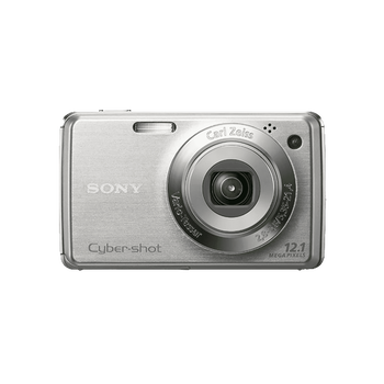 12.1 Mega Pixel W Series 4x Optical Zoom Cyber-shot (Silver), , hi-res