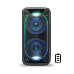 EXTRA BASS High Power Home Audio System with Battery (Black), , hi-res