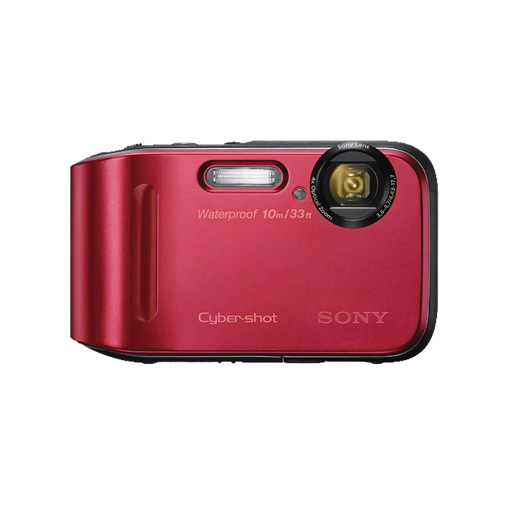 16.1 Megapixel T Series 4X Optical Zoom Cyber-shot Compact Camera (Red), , product-image