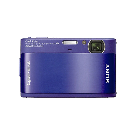 10.2 Megapixel T Series 4X Optical Zoom Cyber-shot Compact Camera (Blue), , hi-res