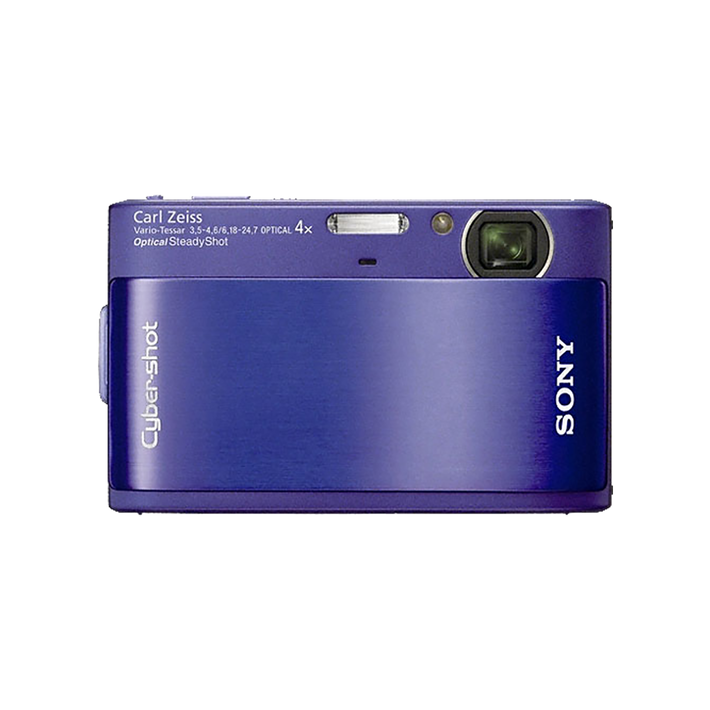10.2 Megapixel T Series 4X Optical Zoom Cyber-shot Compact Camera (Blue), , product-image