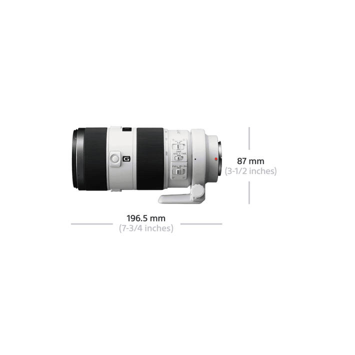 A-Mount 70-200mm F2.8 G SSM II Lens, , product-image