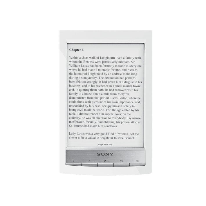 T1 Reader Wi-Fi Touch with 6.0 Paper-Like Touch Screen and Expandable Memory (White), , product-image