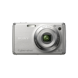 12.1 Mega Pixel W Series 4x Optical Zoom Cyber-shot (Silver), , hi-res
