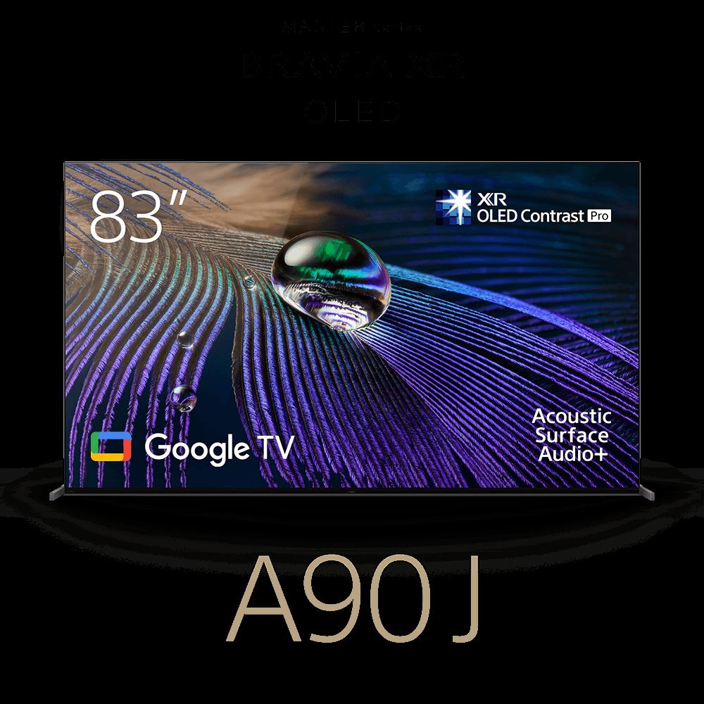"83"" A90J | BRAVIA XR | MASTER Series OLED | 4K Ultra HD | High Dynamic Range | Smart TV (Google TV), , product-image"