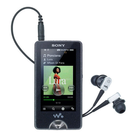 X Series Video MP3/MP4 16GB Walkman (Black), , hi-res