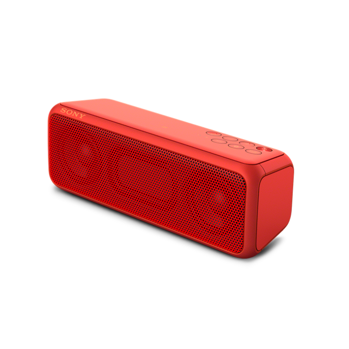 EXTRA BASS Portable Wireless Speaker with Bluetooth (Red), , product-image