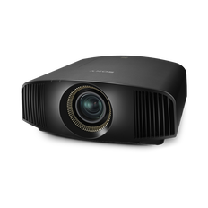 4K HDR SXRD Home Cinema Projector with 1800 lumens brightness (Black)
