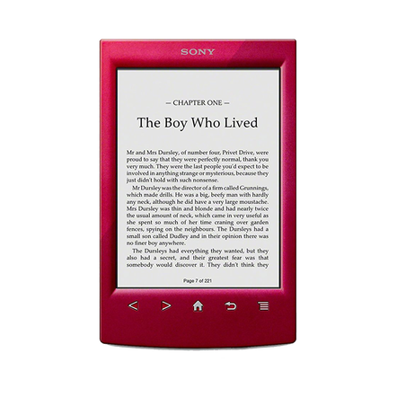 T2 Reader with 6.0 Paper-Like Touch Screen (Red)