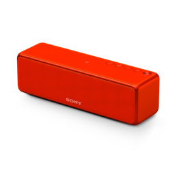 h.ear go Bluetooth Wireless Speaker with High-Resolution Audio (Red)