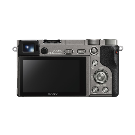 a6000 Digital E-Mount 24.3 Mega Pixel Camera (Grey)