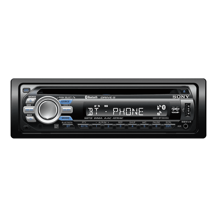 BT3600 In-Car CD Player, , product-image