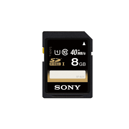 8GB SDHC Memory Card UHS-1 Class 10, , hi-res