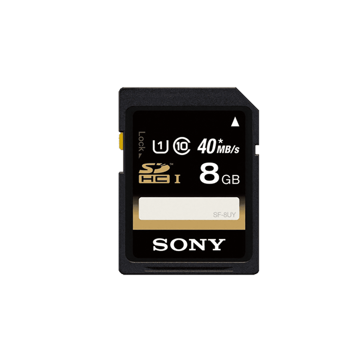 8GB SDHC Memory Card UHS-1 Class 10, , product-image