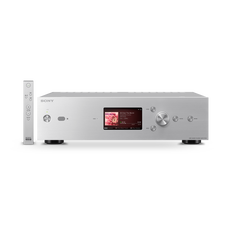 High-Resolution Audio 1TB HDD Player (Silver)