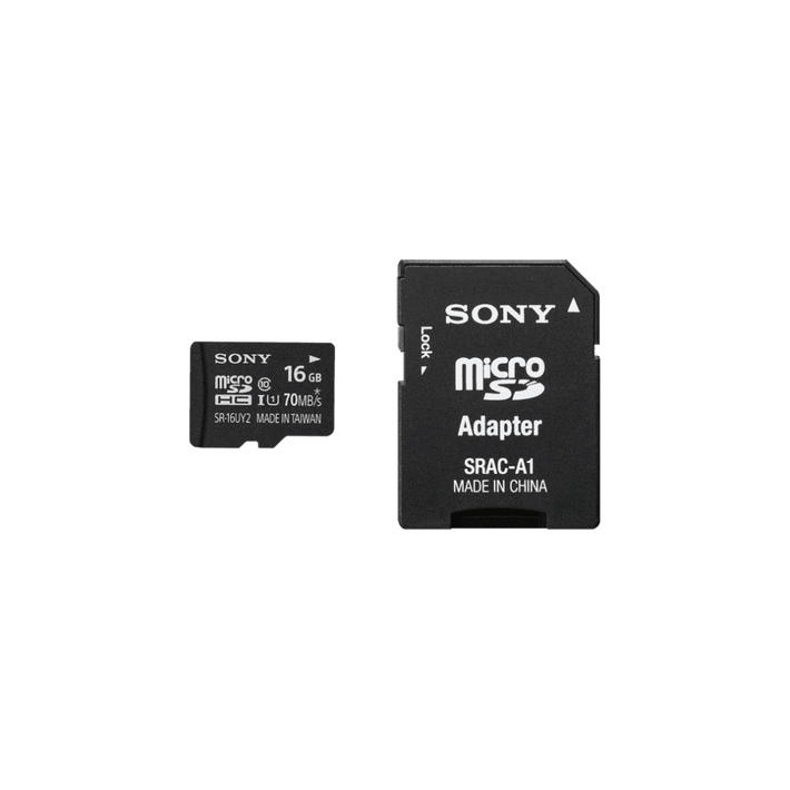 16GB SR-UY2A Series micro SD Memory Card, , product-image