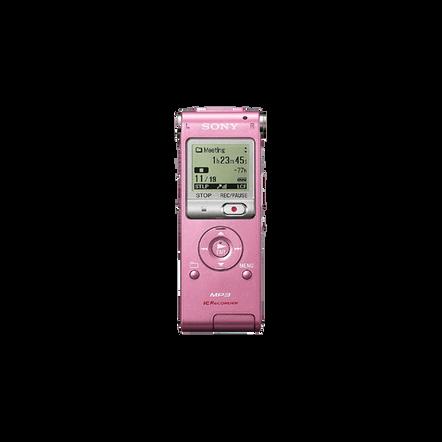 2GB UX Series MP3 Digital Voice IC Recorder (Pink), , hi-res