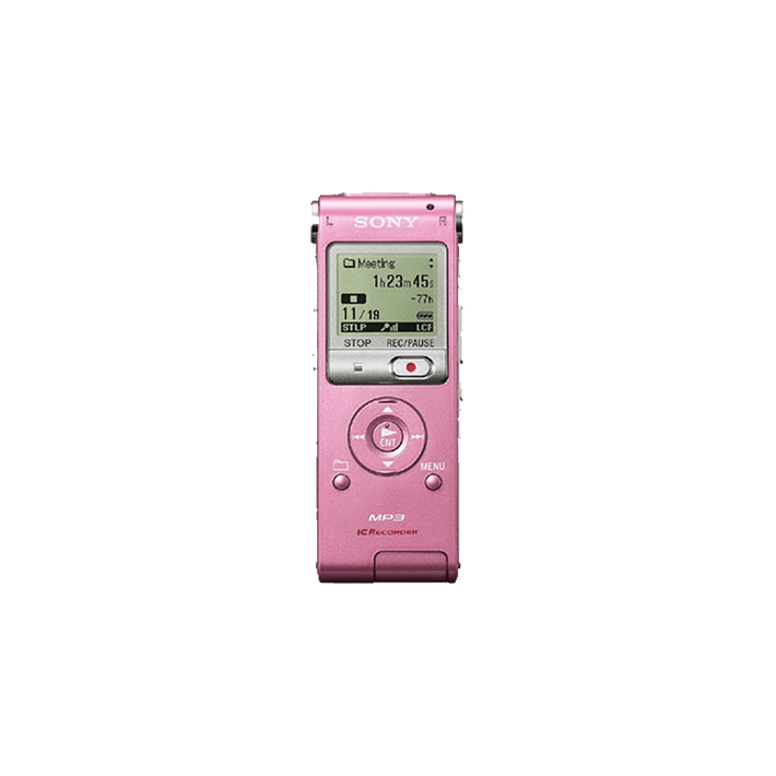2GB UX Series MP3 Digital Voice IC Recorder (Pink), , product-image
