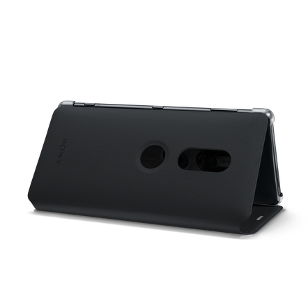 Style Cover Stand SCSH40 for Xperia XZ2 (Black)