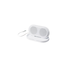 Portable Travel Speakers (White)