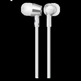EX155AP In-Ear Headphones (White)