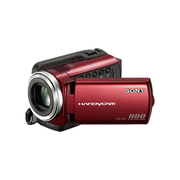 60GB Hard Disk Drive Camcorder (Red), , hi-res