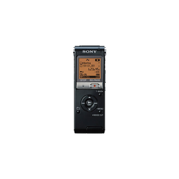 4GB UX Series Digital Voice Recorder with Expandable Memory Capabilities (Black)
