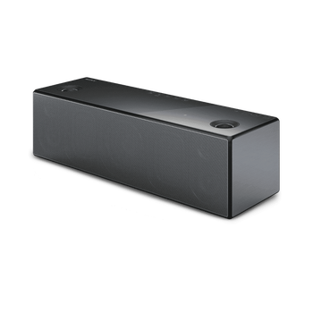 Wireless Speaker with Wi-Fi/Bluetooth (Black), , hi-res