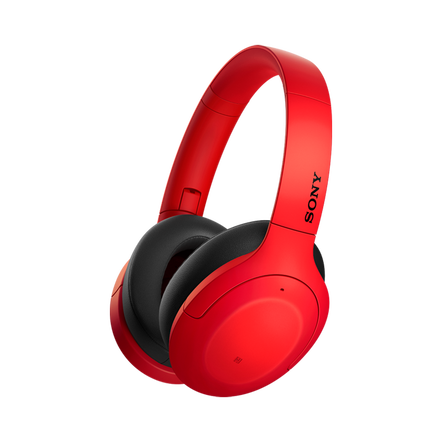 WH-H910N h.ear on 3 Wireless Noise Cancelling Headphones (Red), , hi-res