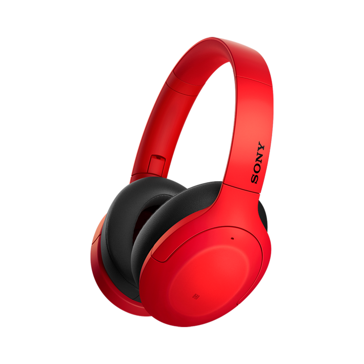 WH-H910N h.ear on 3 Wireless Noise Cancelling Headphones (Red), , product-image