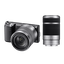 NEX5 16.1 Mega Pixel Camera (Black) with SEL1855 and SEL55210 Lens