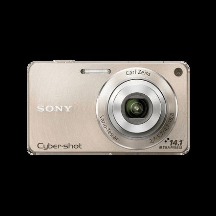 14.1 Megapixel W Series 4X Optical Zoom Cyber-shot Compact Camera (Gold), , hi-res