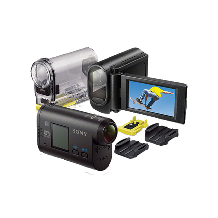 Full HD Action Cam with LCD Mount