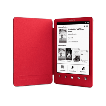 T3 Reader with Integrated Cover and High Resolution Screen (Red), , hi-res