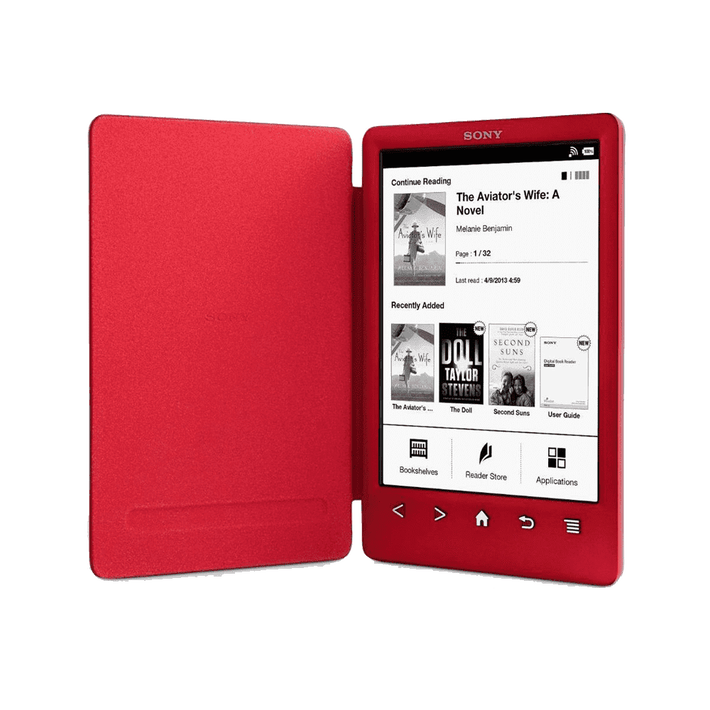 T3 Reader with Integrated Cover and High Resolution Screen (Red), , product-image