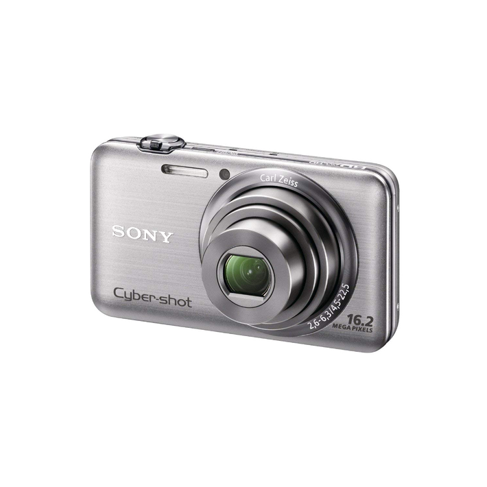 16.2 Megapixel W Series 5X Optical Zoom Cyber-shot Compact Camera (Silver), , product-image