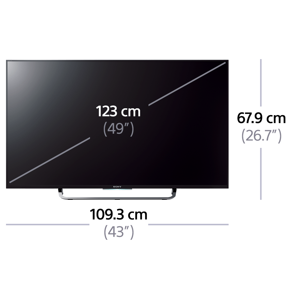 """49"""" X8300C 4K Ultra HD with Android TV , , product-image"""