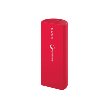 Portable USB Charger 3000mAH (Orange)