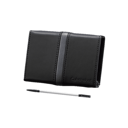 Leather Carrying Case Included with Stylus (Black), , hi-res