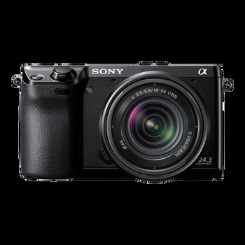 24.3 Mega Pixel Camera with SEL1855 Lens, , hi-res