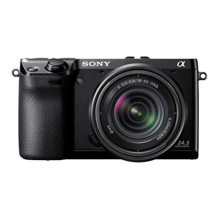 24.3 Mega Pixel Camera with SEL1855 Lens, , product-image